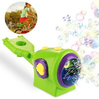 IN Stock Kids Gatling Summer bicycle Bubble Gun The battery Toys Automatic Soap Water Machine For Children Toddlers Indoor Outdoor Wedding
