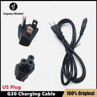 US Plug Charging cable for MAX G30 Kickscooter EU Plug Charging cable for Ninebot G30 Smart Electric Scooter