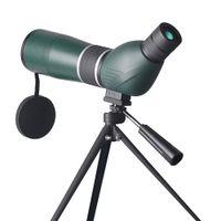 15-45x60 التكبير أحادي تلسكوب ماء HD الطيور مشاهدة مع ترايبود الصيد اكتشاف نطاق 45 درجة