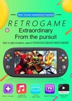 لعبة اللاعبين المحمولة 7 بوصة X16 المحمولة وحدة التحكم 8 جيجابايت / 16 جيجابايت الكلاسيكية الرجعية فيديو لاعب ل Neogeo Arcade