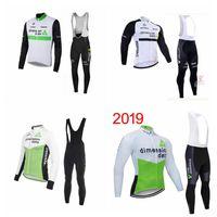 Dimension Daten Team Radfahren Langarm Jersey BIB Pants Sets Mens Racing MTB Bike MAILLT RACING CLOTY ROPA CICLISMO 102609