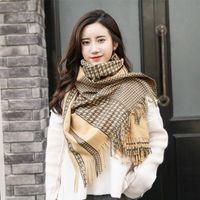 Herbst High Street Kaschmirschal Damen Luxus Designer Swallow Gird Pashmine Schal Marke Wraps Winter Warme Decke Tücher
