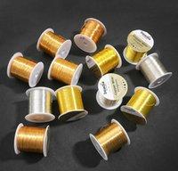 Fil de gros rouleau 0,2 / 0,6 / 0,4 / 0.5 / 0.6 / 0.8 / 1mm Cuivre de cuivre Bijoux de cuivre Fil DIY Fil de bricolage artisanat