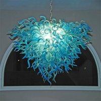 Lampade a sospensione moderne Lampadari per lampadario Lampadario per lampadario a mano Lampadari di vetro per camera da letto Lampada a sospensione