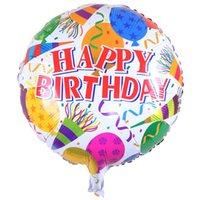 18 polegadas feliz aniversário coração bolas de ar alumínio balões festa decorações crianças hélio balão festas suprimentos za4064 350 R2