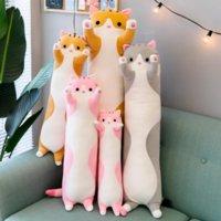 50cm cute cat panda koala large stuffed animals plush toys for children girls soft long sleep pillow hugs christmas gifts