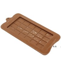24 Grids Rectangle Silicone Moulds Chocolate Cake Molds Food Grade DIY Baking Mould Ice Cube Jelly Mold Home Kitchen Tool EWF10331