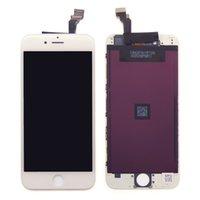 ЖК-дисплей для iPhone 6 6G сенсорные панели Digitizer экран замена высокой яркостью 4,7 дюйма бесплатно DHL