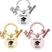 Gül Altın Gümüş Sınıf 2021 Lisansüstü Anahtarlık Okul Üniversitesi Öğrenci Hediye Kaydırma Takı Zinciri Ile Paslanmaz Çelik Anahtarlık G31902