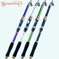 Sougayilang hengel Harde FRP draaien 1.8m-3.3M Pole Tools Zout Water / Fresh Water Tackle Boat Rods