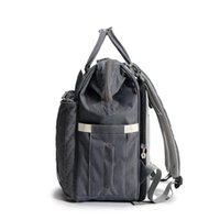 Luxury Quilted Maternity Bag Diaper Backpack With Changing Bed