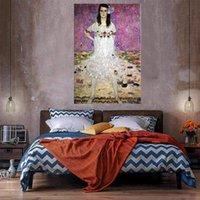 Mädchen Wohnkultur Riesiges Ölgemälde auf Leinwand Handgemalt / HD-Print Wandkunst-Bilder Anpassung ist akzeptabel 21051214