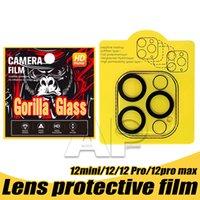 عودة كاميرا عدسة حامي الزجاج المقسى لباد 12.9 11 بوصة فون 12 مصغرة 11 برو ماكس XR XS حماية فيلم GALSS