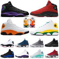 Nike Air Jordan Retro 13 Jumpman 13 13s Herren Damen Basketballschuhe Spielplatz Hyper Royal Starfish Reverse Bred Court Lila Sport Outdoor Sneakers Trainer