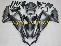 Injecion Custom Cowling Fairings kit for Matte Black SUZUKI GSXR 600 750 GSXR600 GSXR750 Bodywork 2008-2009-2010 Fairing kits 08-09-10 Motorcycle Accessories