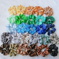 67PCS Solid Color Silk Satin Hair Bands Women's or Girls' Hair Jewelry Hairband Suitable For Women's Ponytail Scrunchies