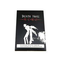 Blocco note 2pcs / set * 2021 Death Note Notebook Anime Fashion Diario Diario Tema Cosplay Journal Writing Planner con penna piuma regalo