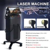 CE Утверждено 755 808 1064 NM 3 Душеродина диода Лазерная машина для удаления волос Машина Ance Лечение Кожа затяжки