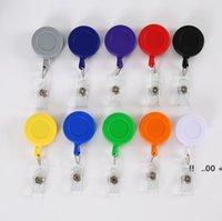 NewBadge Reels 개폐식 평면 맞춤형 풀 배지 릴 끈 개폐식 키 체인 ID 이름 태그 카드 홀더 EWC7139