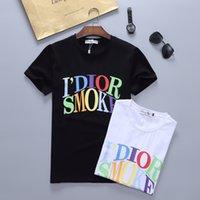Hot 22SS Venta NUEVO 100% algodón Camiseta de hombre Diseñador Camiseta casual para hombre Moda de manga corta de hombre Polo de lujo 14LV3