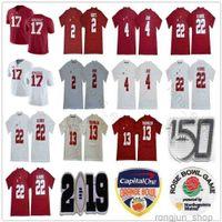 NCAA 150th Alabama Crimson Tide College Football 13 TUA THAYOVAILOA 4 Jerry Jeudy 22 Najee Harris Jalen Hurts Ridley 17 Jaylen Waddle Trikots