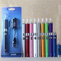 Ego Evod MT3 Blister Pack Starter Kit med 650mAh 900mAh 1100mAh Förvärmning Batteri Ugo Vaporizer Atomizer Tank Vape penna