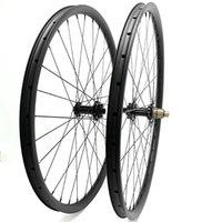 عجلات الدراجة 27.5er الكربون MTB القرص 45x30mm asymmetr الفرامل دراجة القرص r211 6 مخلب 110x15 148x12