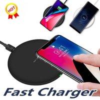 N5 빠른 빠른 QI 무선 충전기 충전 9V 1.67A 5V 2A iPhone 용 휴대용 충전기 삼성 갤럭시 S11 S10 S20 노트 10 소매 패키지