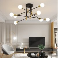 Modern nordic led ceiling pendant lamps interior decoration dining lighting fixtures living room kitchen bedroom chandelier K-PL8312