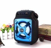 Outdoor handbag bluetooth speaker square dance audio card wireless big subwoofer mobile phone holde 30X dhl free