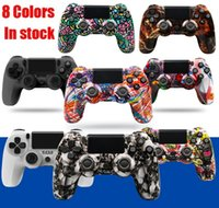 New Colors Bluetooth Wireless Controller For PS4 Vibration Joystick Gamepad Game Handle Camo Controllers For Play Station Four Generation