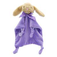 Puppets Baby Saliva Towel Soft Newborn Plush Soothing Comfort Cute Cartoon Animals Rabbit Elephant Bear Lovely Bunny Sleeping Dolls Toy for Children