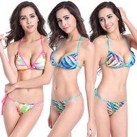 Swimsuit Womens 2021 Cross Border New Super Chest Sexy Stunning Brazil Strap Girls Bikini Export Fashion Swimwear XL