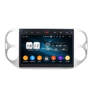 "Octa Core 10.1 ""Android 8.0 Car DVD Radio GPS for VW Volkswagen Tiguan 2013 2014 2015 2016 مع 4GB RAM 64GB ROM Bluetooth USB Mirror-link"