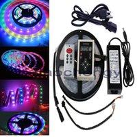 Streifen wasserdicht 5M RGB-Traumfarbe 6803 IC-LED-Streifen-Licht 133 Ändern Sie RF-Fernbedienung