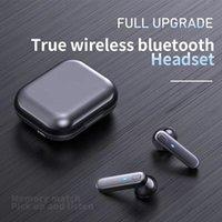 Kablosuz Bluetooth Kulaklık Çip Şeffaf Metal Rename GPS Kablosuz Şarj Bluetooth Kulaklık Üçüncü Nesil Cep Telefonu Kulak Algılama