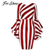 Maternity Dresses Clothings Plus Size Women's Striped Long Sleeve Midi Church Dress Pography Costume Ladies Bodycon