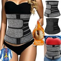 Women's Shapers Neoprene Sweat Waist Trainer Corset Trimmer Belt For Women Weight Loss Cincher Body Shaper Slimmer Compression Shapewear
