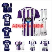 21 22 Real Valladolid Futebol Jerseys Fede S. Sergi Guardiola Óscar Plano Camisetas de Fútbol 2021 2022 Adulto Kitch Kit Camisas de futebol