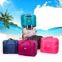 Duffel bag Multifunctional portable travel bag nylon folding waterproof large capacity business 0907