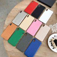 Caso de iPhone móvil para mujer y para hombre A prueba de caídas Multi color disponible para teléfono 7 8 12 11 Pro max x xs
