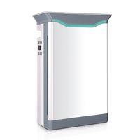 Purificatore d'aria elettrico HEPA H12 Filtro per la casa Camera da letto Ufficio Ufficio Silenzioso Aria-filtro Aria per PET DANDE POLLEN POLLEN, Smart Air-Quality Indicator Light