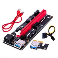 PCI-E video card Motherboards extension line adapter USB3.0 adapters cards PCIE 1 x to 16x 009s