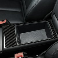 센터 컨트롤 AREMEST Storage Box 패널 커버 스티커 Audi A3 2014-2019
