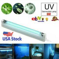 8W UVC Ozone Ultraviolet Germicidal Lamp Remote UV Sterilization Quartz Lights