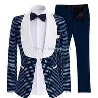 Красивая одна кнопка Groomsmen Sakel Groom Tuxedos мужской костюм мужские свадебные костюмы невесты (куртка + брюки + галстук) A220