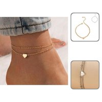 Anklets Lightweight Beautiful Adjustable Elegant Chain Anklet Gift Ankle Bracelet Exquisite For Daily Wear