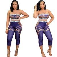 Yaz kadın eşofman setleri moda rahat baskı kadınlar için iki parçalı kıyafetler kolsuz artı boyutu s-2xl