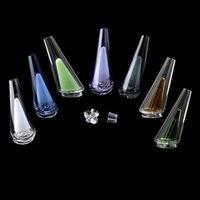 Beracky Hookahs pico de vidros coloridos com tampa carb / quartzo Inserir 7 cores Substituição Fornecendo filtragem e arrefecimento para sonda de água Dab Bongs