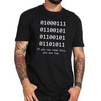 바이너리 비트 Java T 셔츠 긱 유머 Tshirts 100 % 코튼 블랙 화이트 재미있는 캐주얼 탑 티 옴므 플러스 사이즈